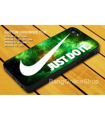nike galaxy green storm art cover iphone 7 7+ 6 6s 6+ 6s+ 5 5s 5c 4 4s case