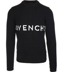 man givenchy 4g pullover in black cotton