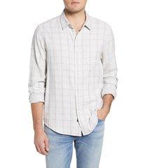 men's rails owens shadow plaid button-up shirt