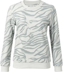 cotton blend sweatshirt animal printed