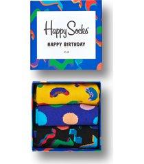 giftbox urodzinowy 3pak skarpetki happy birthday