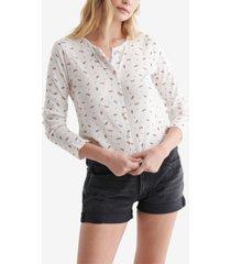 women's point elle-knit cardigan