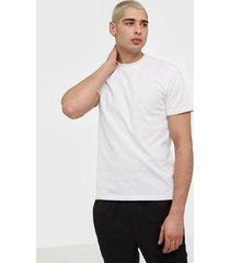 only & sons onskadi reg ss tee t-shirts & linnen vit