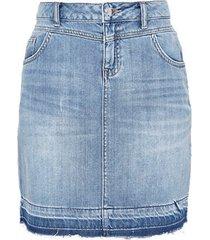 lichtblauwe dames spijker rok s. oliver - 14.803.79.3777