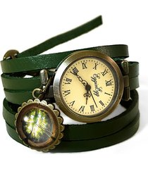 skórzany zegarek las - 0119