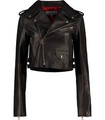 loewe calf leather jacket