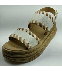 sandalia beige dakini shoes martina