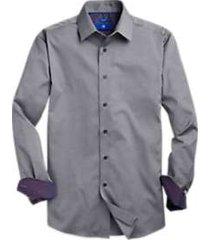 egara grey honeycomb sport shirt