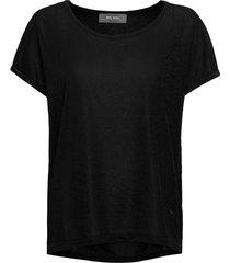 kay tee t-shirts & tops short-sleeved svart mos mosh