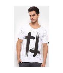 camiseta bossa brasil cruzes masculina