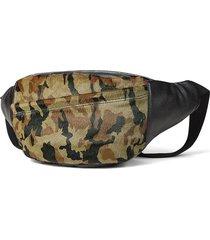 vintage vera pelle camouflage sling borsa vita borsa cassa borsa crossbody borsa for men