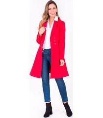 abrigo xuss 50656 rojo