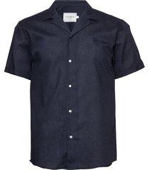 simon shirt overhemd met korte mouwen les deux