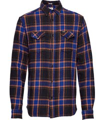 ls 2 pkt flap shirt black overhemd casual zwart wrangler