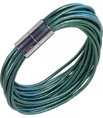 suki matisse women's leather bracelet