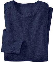 strickpullover, nachtblauw xl