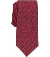 alfani men's cross abstract necktie, created for macy's