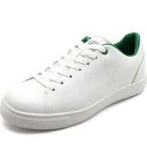 tenis blanco-verde us polo assn