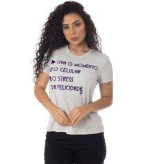 t-shirts daniela cristina gola u 10 10248 12830 branco - branco - pp - feminino