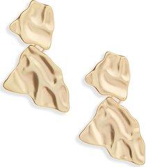 women's karine sultan freeform drop earrings