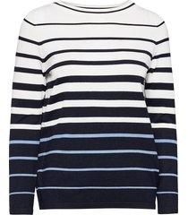 pullover long-sleeve gebreide trui blauw gerry weber