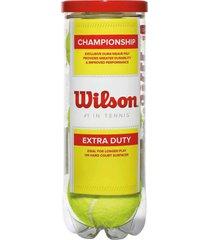 pelotas bolas de tenis wilson championship extra duty
