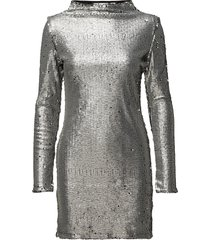 fun dress kort klänning silver cheap monday