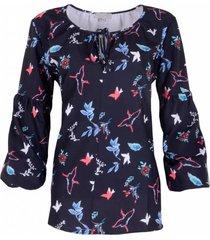 maicazz jackie sp19.20.001 blouse blackbird blauw