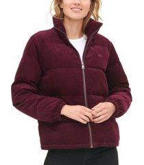 levi's women's corduroy puffer jacket