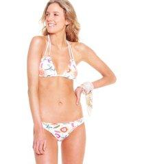 traje de baño bikini mujer blanco maui and sons