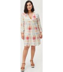 klänning xmulti 3/4 knee dress