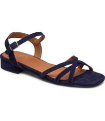 sandals 4025 shoes summer shoes flat sandals blå billi bi