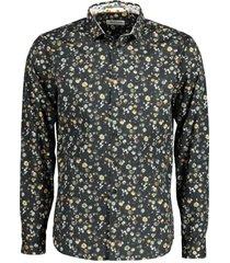 no excess overhemd - modern fit - zwart