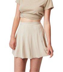 women's pleated tennis mini skirt
