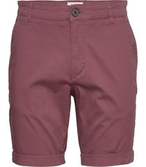 slhstraight-paris shorts w noos shorts chinos shorts röd selected homme