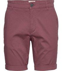 slhstraight-paris shorts w noos shorts chinos shorts röd selected homme