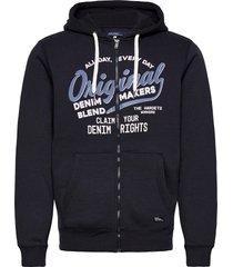 sweatshirt hoodie blå blend