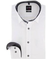olymp level 5 body fit overhemd wit mouwlengte 7