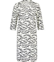 penn & ink s20m-jillp 1250 ny jurk all over print zebra wit