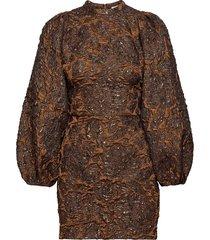 harriet short dress 11334 korte jurk bruin samsøe samsøe