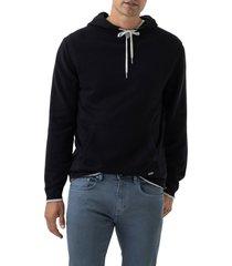 men's rodd & gunn kingsley park regular fit hoodie, size xx-large - black