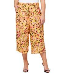 jessica simpson trendy plus size senna printed pants