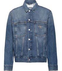 over d iconics omega jacket jeansjack denimjack blauw calvin klein jeans