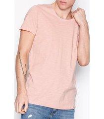 jack & jones jjebas tee ss u-neck noos t-shirts & linnen ljus rosa