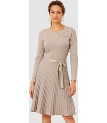 jurk amy vermont taupe