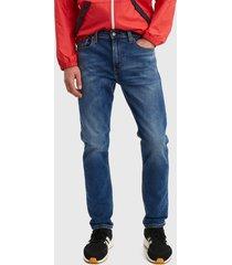 jeans levis 512 slim taper goldenrod mid overt azul - calce slim fit