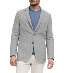 blazer gris banana republic