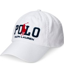 polo ralph lauren men's cotton twill ball cap
