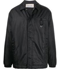 1017 alyx 9sm buttoned lightweight jackets - black