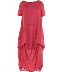 pullover 3/4 length dresses